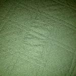 patched bedspread, Villa Roma
