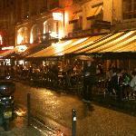 Cafe Jade on Rue de Buci, Paris France