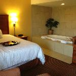 King Suite with the Jacuzzi in the room