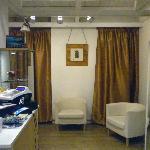 The shop lounge
