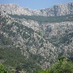 Mountains behind the Finca
