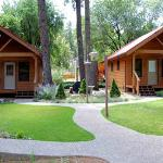 cabins with covered decks for relaxing