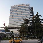 Vorderansicht Hotel