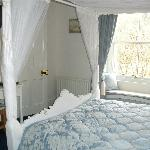 The romantic Four Poster room. 1st floor