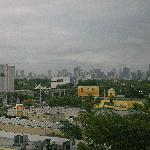 Looking north at Miami from Room 614