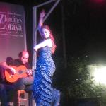 Very passionate flamenco dancing