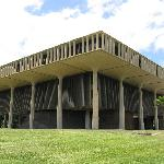 Hawaii State Capitol -- exterior view