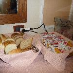 très mauvais pain en sachet et sans goût