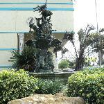 facade avant de l'hôtel