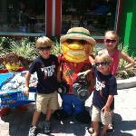 My kids at Legoland!!