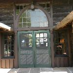 South entry to main lodge