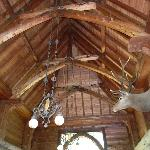 Rafters in the breezeway