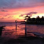Hotel Avila at sunset