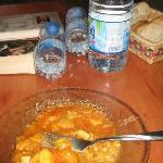 Dinner, very nice home cook feeling