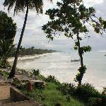View of Diani Beach from Maradadi side