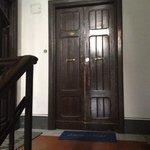 Front door to suite