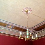 Lovely ornate ceiling