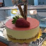 torta gelato alla fragola