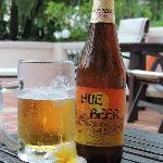 Hue Beer and it even came with a flower