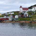 The old town of Battle Harbour.
