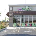 Sweet Frog store front of South Bend location