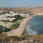 Agua Amarga from hill behind hotel