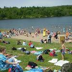 Lifeguarded Beach at Lily Lake