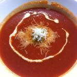 lovely daily special tomato soup - excellent