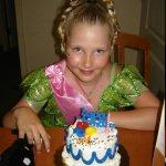 The cake..