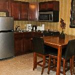 Mountain View Suite Kitchenette