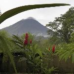 Arenal volcano no longer active but scenic anyway