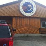 just off AK 1 in Tok, AK... a must stop on the ALCAN