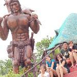 Large Filipino Native statue