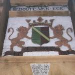 Court of Arms at entrance
