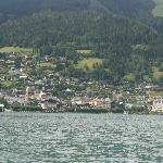 The town of Zell Am See