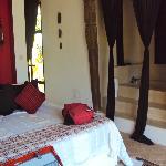 Bedroom in Villa Sannor
