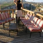 Despertar en la terraza