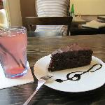 lemonade and chocolate torte