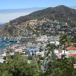 Avalon, the only city on Catalina Island