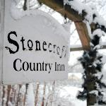 Stonecroft in winter