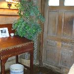 Interior of the inn - just love these old historic places!