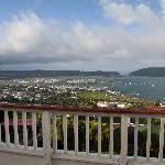 View from Santorini Room of Knysna Heads