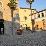 courtyard at San Fedele