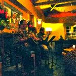 Local Hawaiian Music ~ CJ Halekahi trio Paniolo Lounge