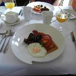 excellent Irish breakfast