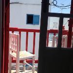 Balcony onto the street