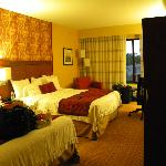 Nice room with 2 queen beds