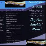 our first menu
