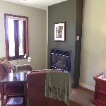 Redwood Room Fireplace