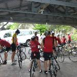 Guests from Orchid Isle Bicycle Tours